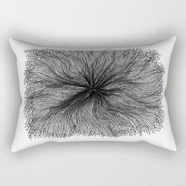 Jellyfish Large B&W Rectangular Pillow