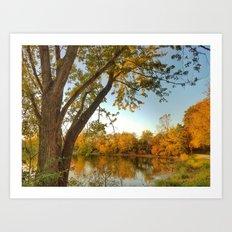 October: Scene 2 Art Print