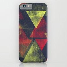 weathered triangles iPhone 6s Slim Case