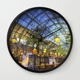 The Apple Market Covent Garden London Oil Wall Clock