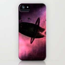 GHOST STATION - Heavy Metal Thunder Artwork iPhone Case