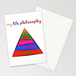 Kephalonissa - my life philosophy Stationery Cards