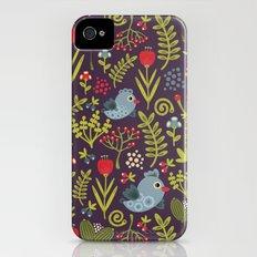 Folk birds.  iPhone (4, 4s) Slim Case