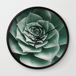 Succulent 2 Wall Clock