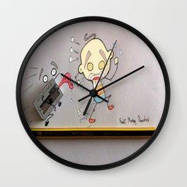 """ When Sharpener's Attack "" Wall Clock"