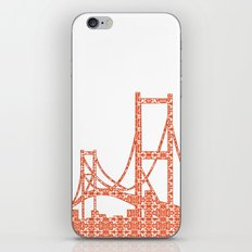 Architecture - Golden Gate Bridge iPhone & iPod Skin