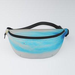 Blue Sky Bubbles Fanny Pack