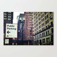 helvetica Canvas Prints featuring Helvetica by loholtz