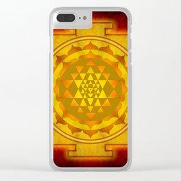 Sri Yantra I Clear iPhone Case