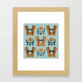 MCM Lapid Framed Art Print