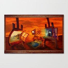 """""""Land Escape"""" Canvas Print"""