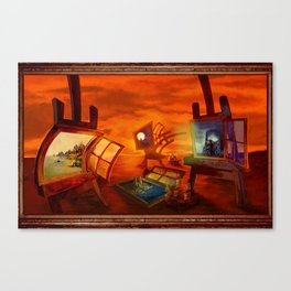 """Land Escape"" Canvas Print"