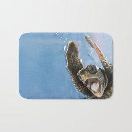 Screaming Turtle Bath Mat
