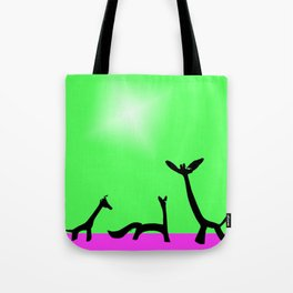 Les Animaux No. 4 of Series 4 Tote Bag
