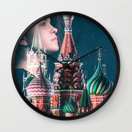 Dream of Kremlin Wall Clock