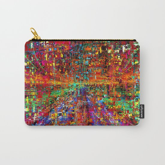 colourful peace Carry-All Pouch