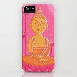 Buddha G iPhone Case