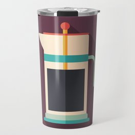 French Press Coffee Travel Mug