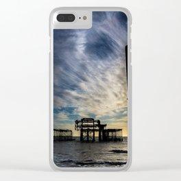 Brighton Seascape II Clear iPhone Case
