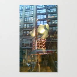 The Corset Canvas Print