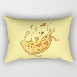 Pizza fall Rectangular Pillow
