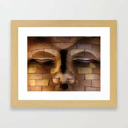 Brickhead 3 Framed Art Print