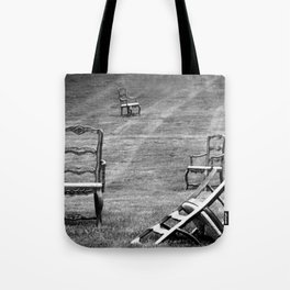 Dining Room Chairs Tote Bag