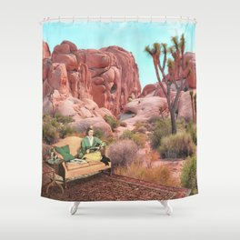 Desert Leisure Shower Curtain