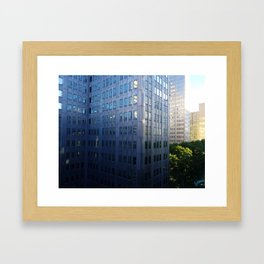 Downtown Pittsburgh Framed Art Print