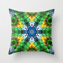 Squamata Throw Pillow