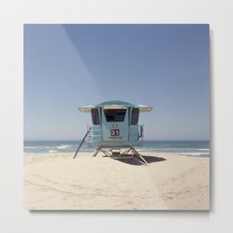 Lifeguard Tower #31 Metal Print
