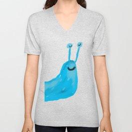 Blue Slug Unisex V-Neck