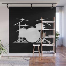 Drum Set Wall Mural