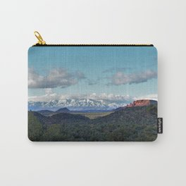 Southwestern Mountain Vista by Reay of Light Carry-All Pouch