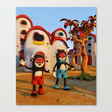 Goodbye Matatoon town Canvas Print