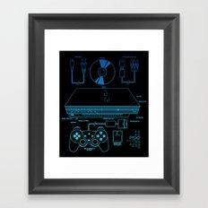 PSX 2 Framed Art Print