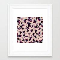drunk Framed Art Prints featuring DRUNK by RUEI