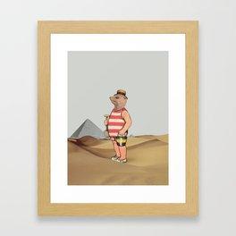 Sandcastles Framed Art Print