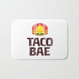 Taco Bae Vintage Print Bath Mat