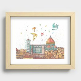 Colors Of Florence Recessed Framed Print
