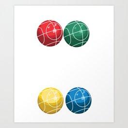 Bocce Queen - Bocci Ball Art Print