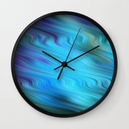 Down Stream Wall Clock