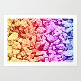 lots of stones Art Print