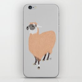 Daphne the Llama iPhone Skin