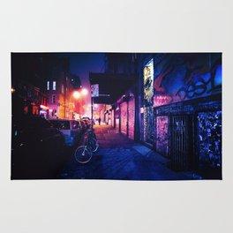 Lower East Side - Night on Rivington Street Rug