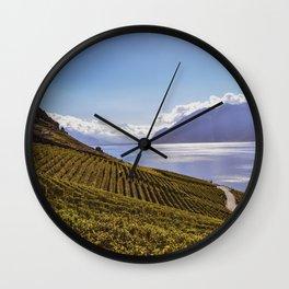 Lavaux Wall Clock