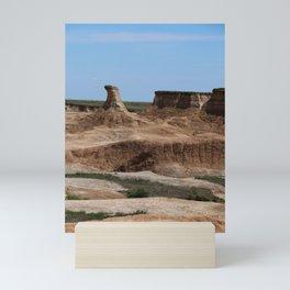 Badlands Rockformation Mini Art Print