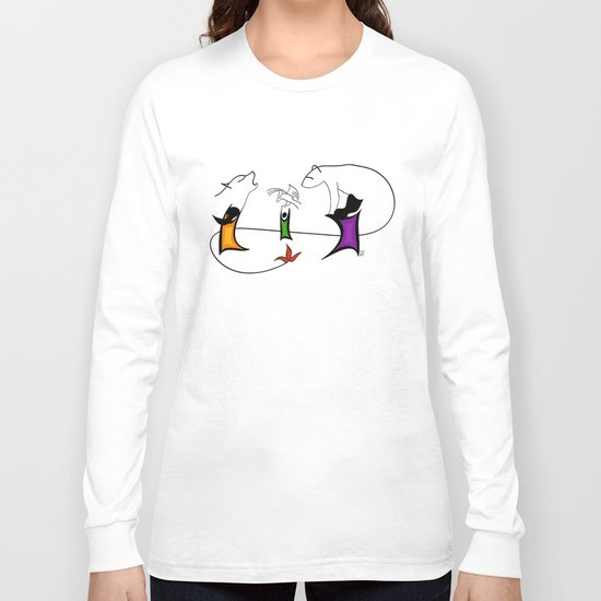 Three ghosts Long Sleeve T-shirt