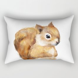 Little Squirrel Rectangular Pillow