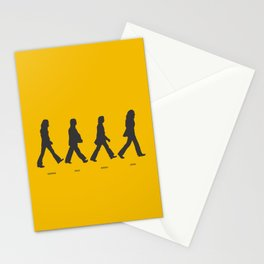 Abbey Road - Yellow Stationery Cards